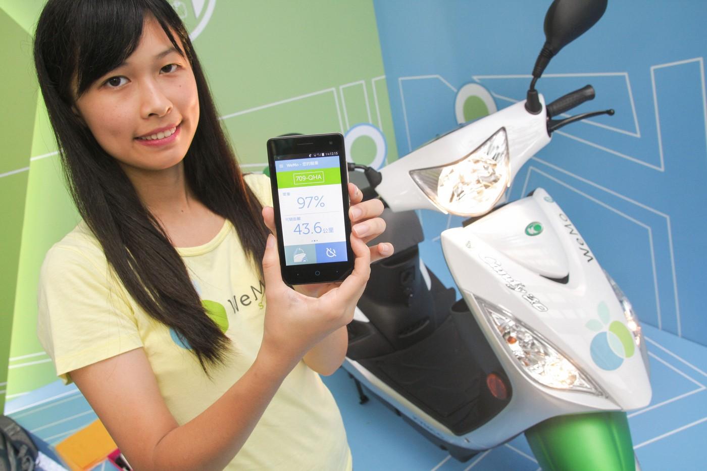 短短兩年營運規模擴增10倍,WeMo共享電動機車年底衝3千台