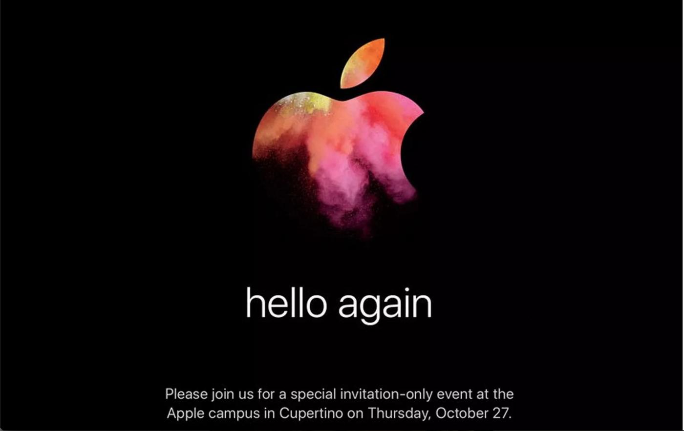 蘋果公佈發表會時間,10月27日最有可能亮相的新款MacBook Pro會有什麼不一樣?