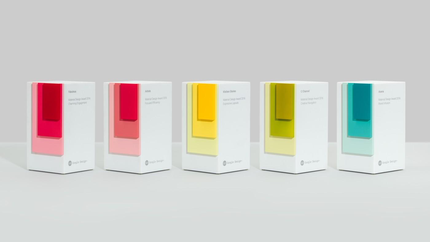 Google Design今年的選美大賽,由這5款App勝出