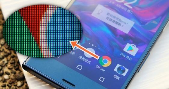 放大70倍!微距透視2016年各大旗艦手機的螢幕細節,分析各種面板的差異