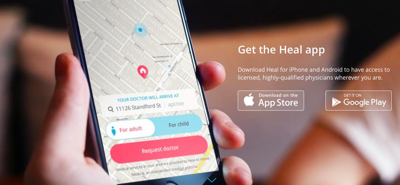 將Uber模式延伸至醫師到府看診,新創Heal獲得2,690萬美元A輪投資