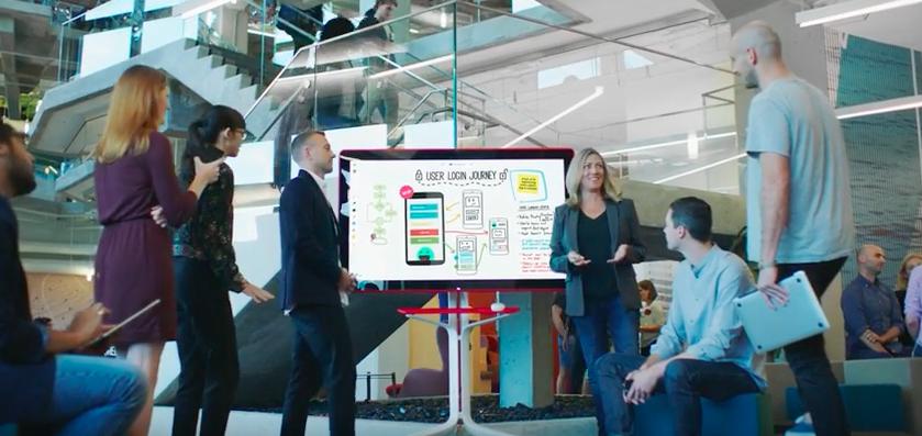 結合手寫筆、數位板擦、G Suite服務,Google Jamboard電子白板今年5月上市