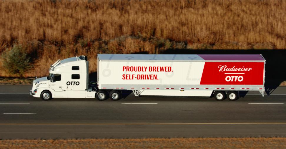 新里程碑!自駕卡車公司Otto完成第一趟無人駕駛、近兩百公里的商用運貨