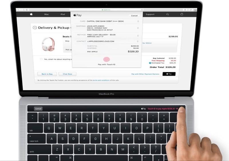 蘋果自己洩密?新版MacBook Pro鍵盤將新增長條觸控螢幕,還支援Touch ID!