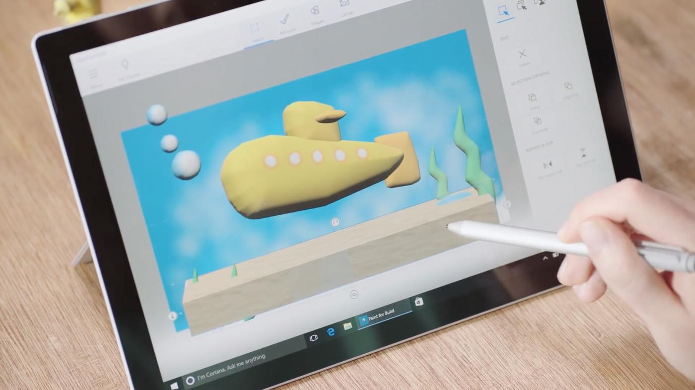 把3D帶給每個人!微軟發表Windows 10更新版本「Creators Update」