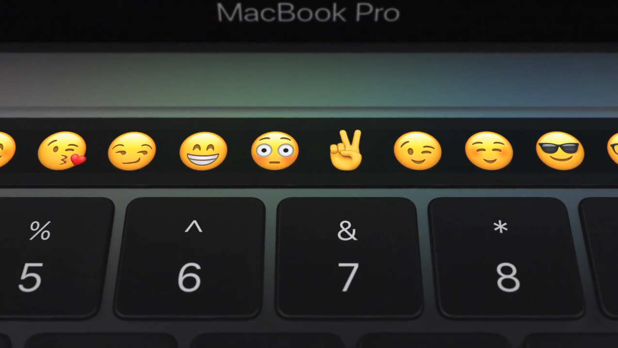 蘋果推出新款MacBook Pro!要以可客製化的「Touch Bar」改變人機互動方式