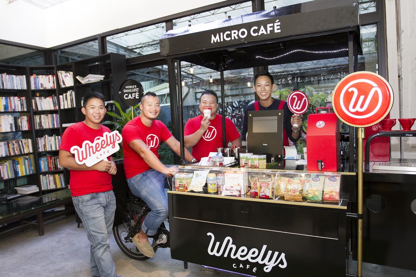 來自北歐的綠能智慧單車Wheelys Café讓你用十分之一的成本開一家風格咖啡館|數位時代
