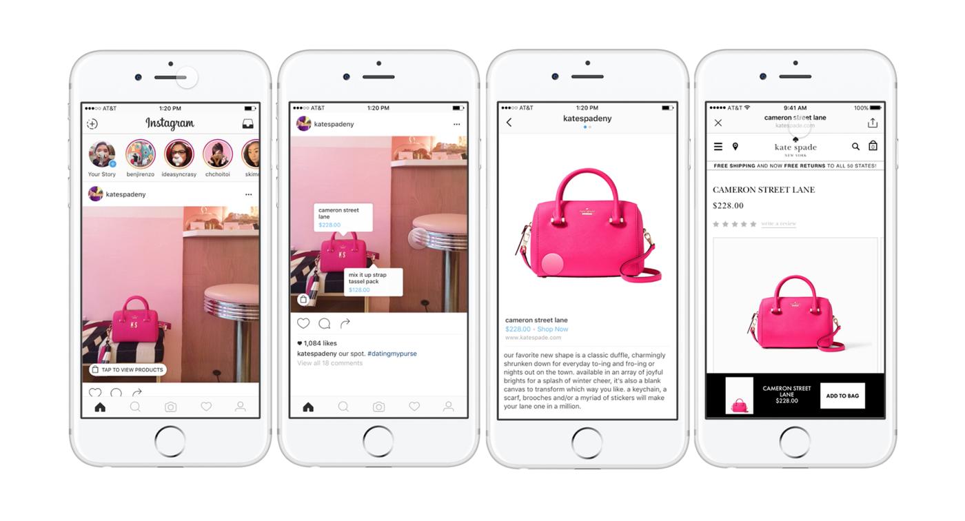 Instagram廣告新招!開放品牌Tag商品、建立商品細節頁面