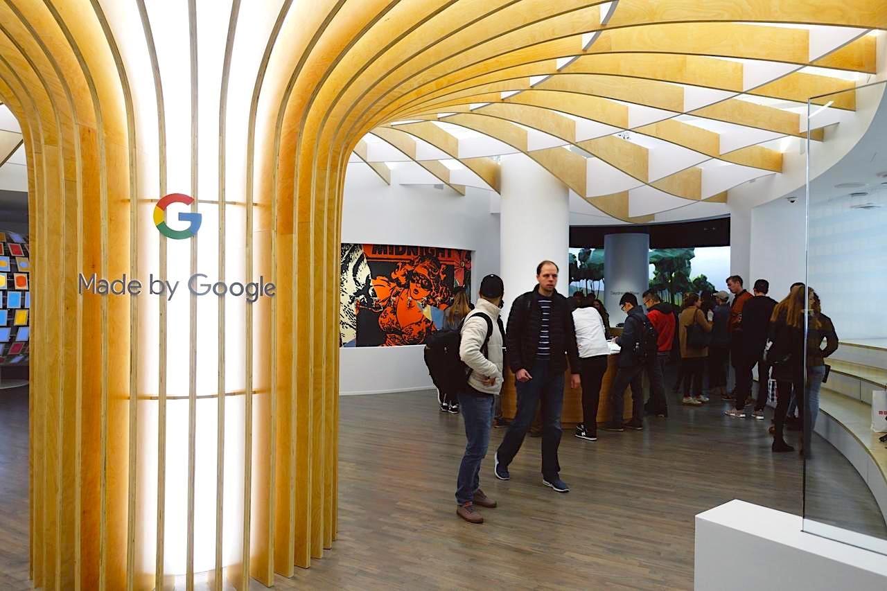 逛了Google紐約「旗艦店」,卻沒有感受到科技公司應有的零售體驗