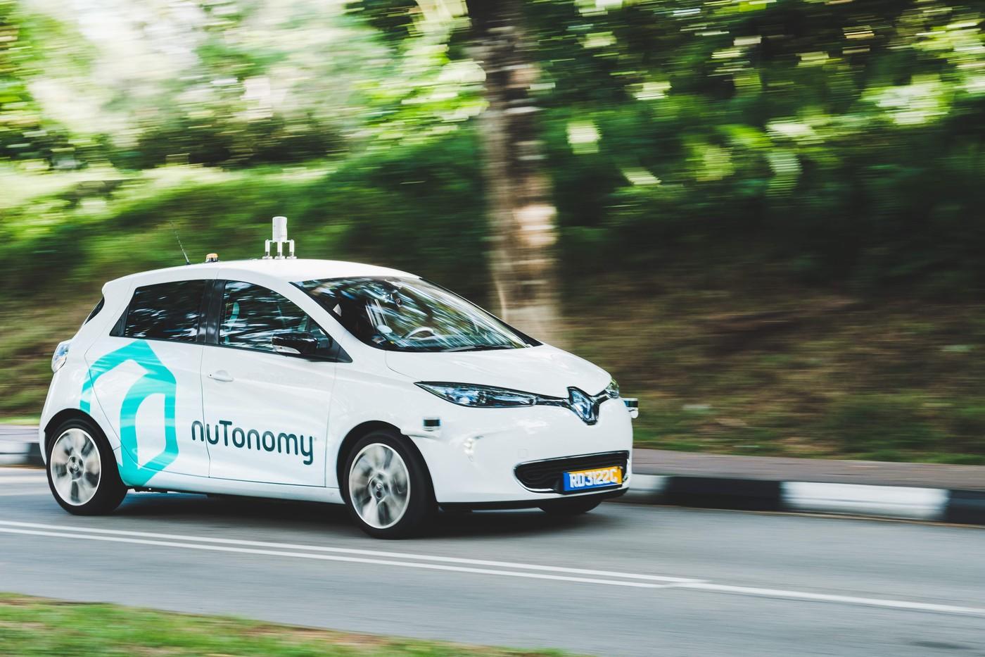 繼新加坡之後,無人車新創nuTonomy將在交通狀況糟糕的波士頓進行測試
