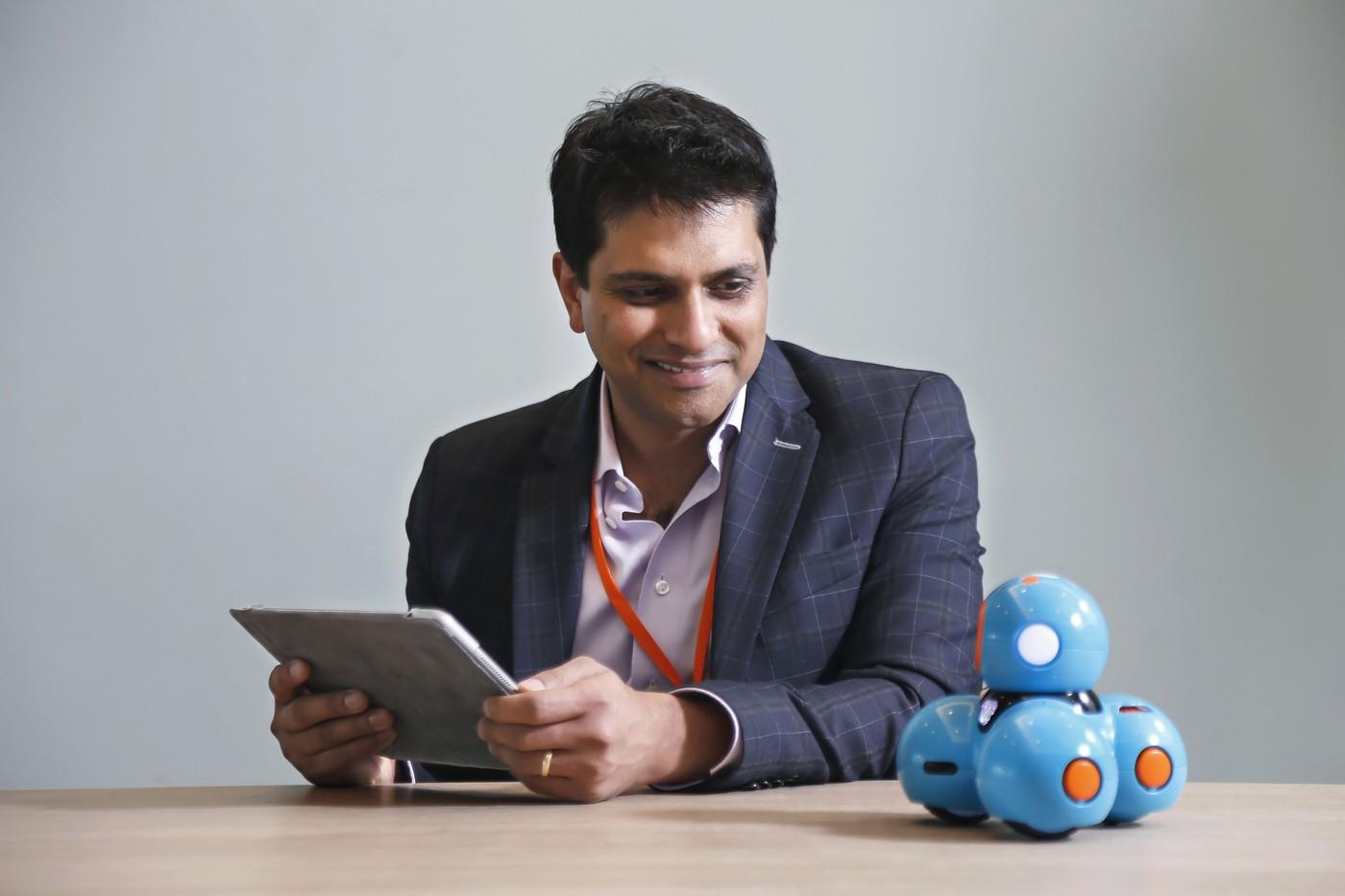 矽谷教育機器人創業家VIkas Gupta給台灣家長的話:理解程式才能理解世界