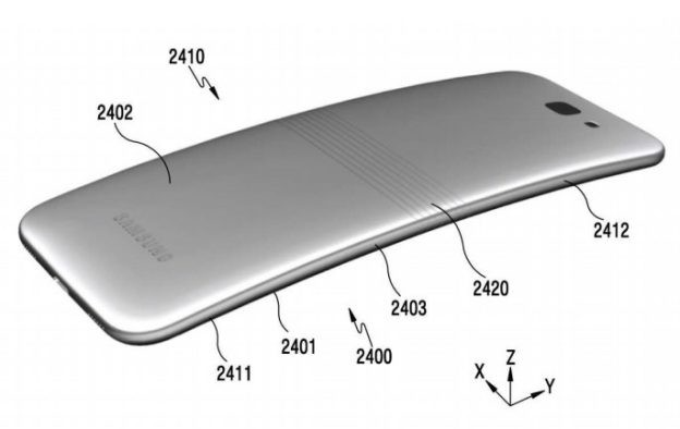 彎曲不算什麼!三星申請「可摺疊」智慧型手機專利
