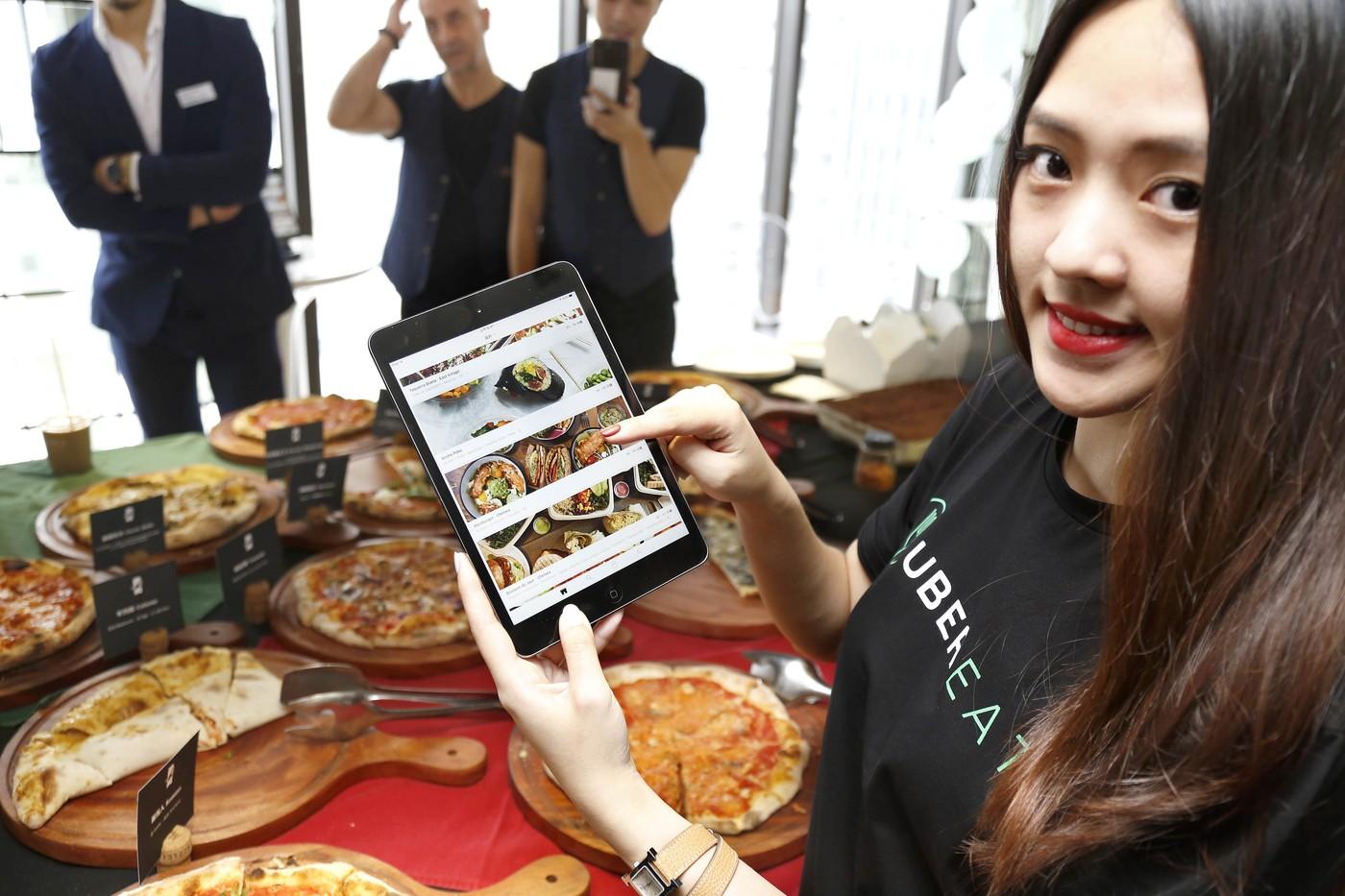 合法爭議擺一邊,Uber在台北推「美食外送」服務