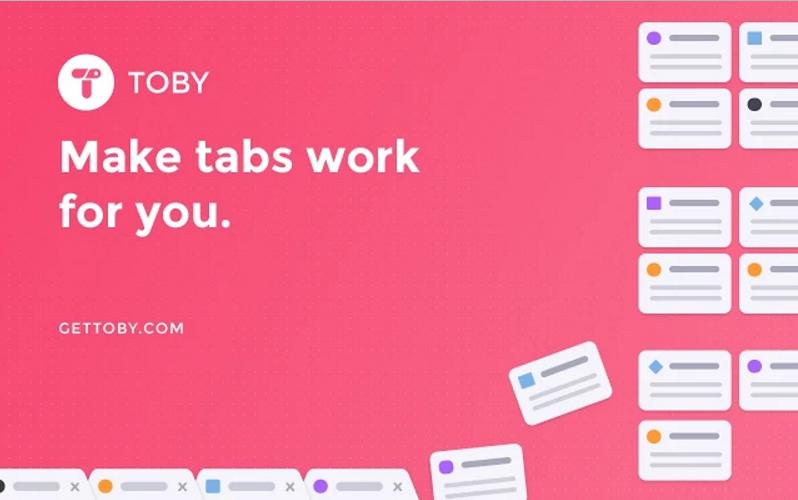 Chrome最佳分頁群組套件「Toby」!好看順暢整理大量分頁