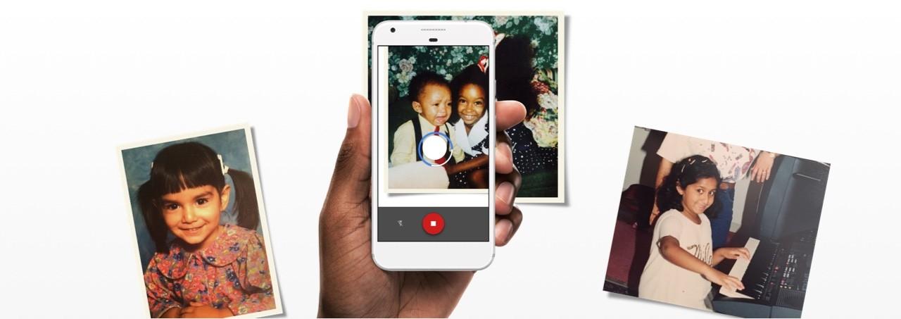 拯救老相片!Google推照片掃描工具PhotoScan,用機器學習校調色差、去眩光