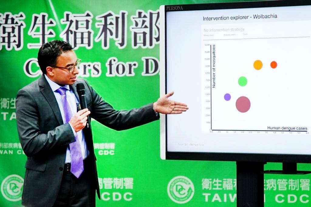 要讓2015年台南登革熱事件不再發生!IBM建決策模型圍堵登革熱