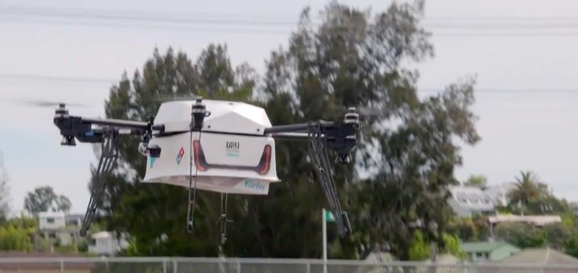 從天而降的Pizza!達美樂開始在紐西蘭實施無人機外送服務