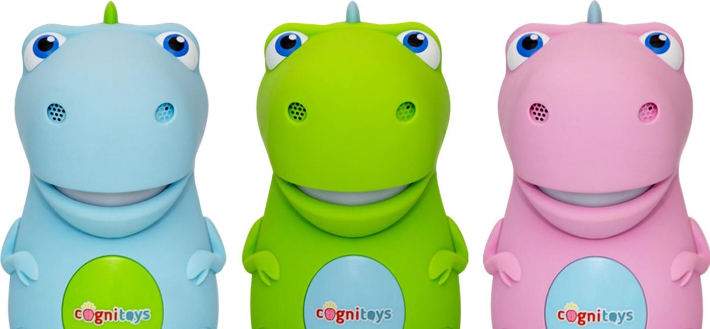 萌臉小恐龍「Dino」,陪孩子談天說地