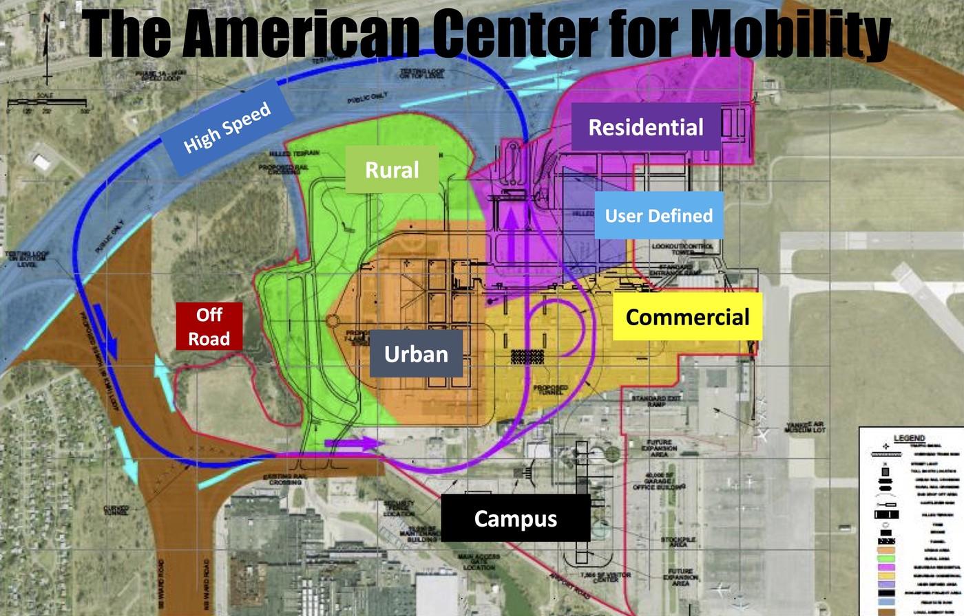 密西根州自動駕駛示範區正式動土,提供車廠模擬各種路況、氣候與場景