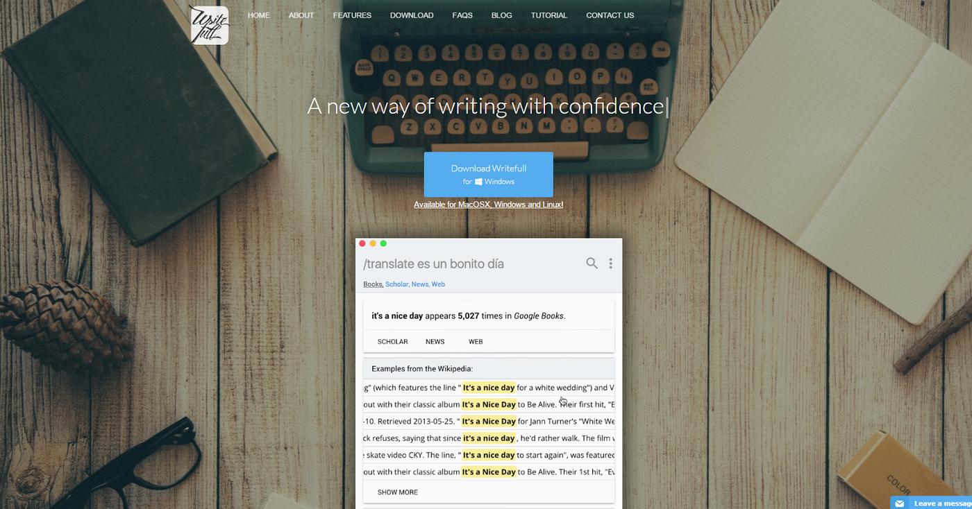 英文寫作與英文文法檢查必備軟體! Writefull 完全免費介面精美