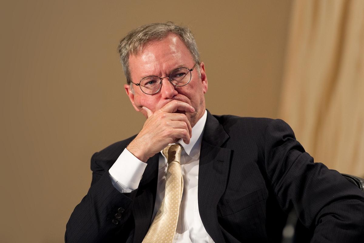 前Google執行長施密特宣布離開Alphabet董事會