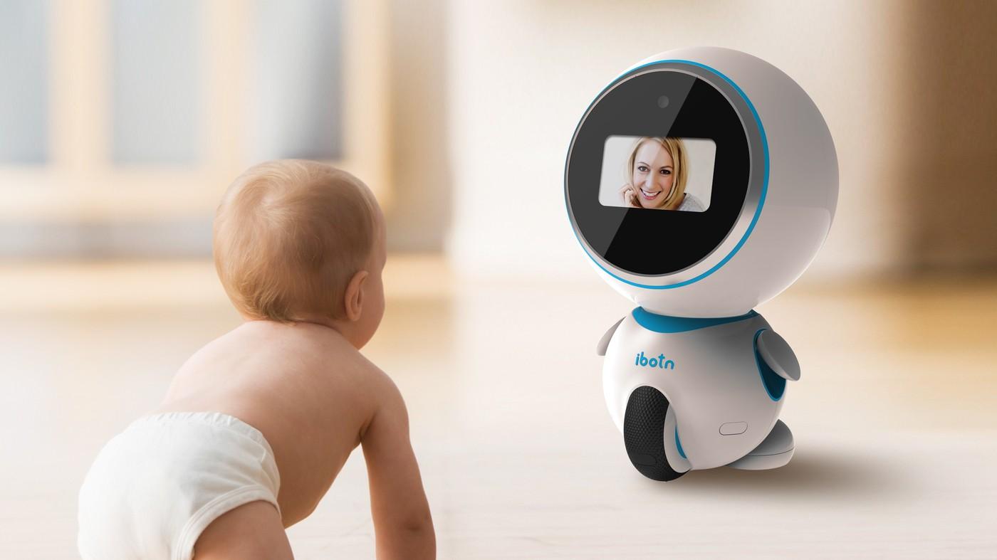爸媽好幫手——「ibotn」愛蹦幼兒陪伴機器人