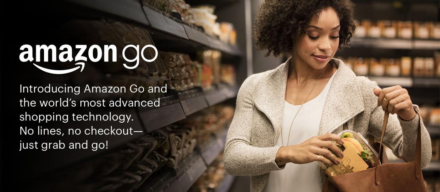 亞馬遜開超市「Amazon Go」,買東西「拿了就走」、不需排隊結帳!