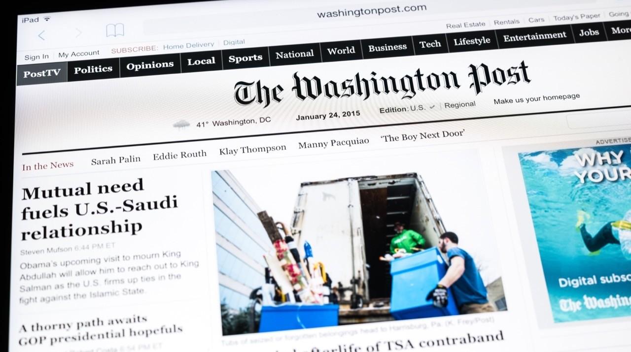 不只賺錢還要擴編!《華盛頓郵報》新聞編輯室將新增超過60項工作