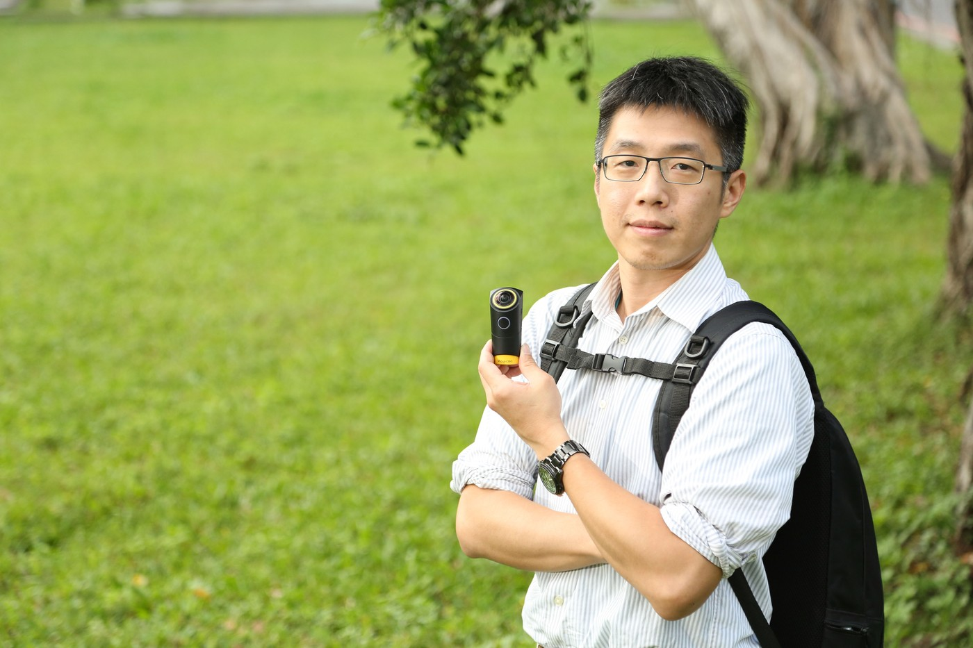 切入VR分眾市場!視旅科技打造穿戴式VR「登山」攝影機