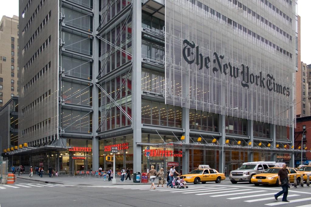 籲各媒體勿短視近利,《紐時》CEO:與蘋果合作無異養虎為患