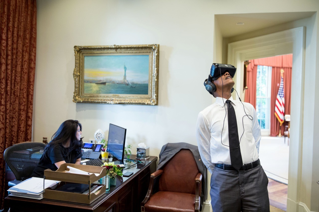 歐巴馬用VR直播卸任演說,這也許是他在任期內送給科技界的最後一份禮物