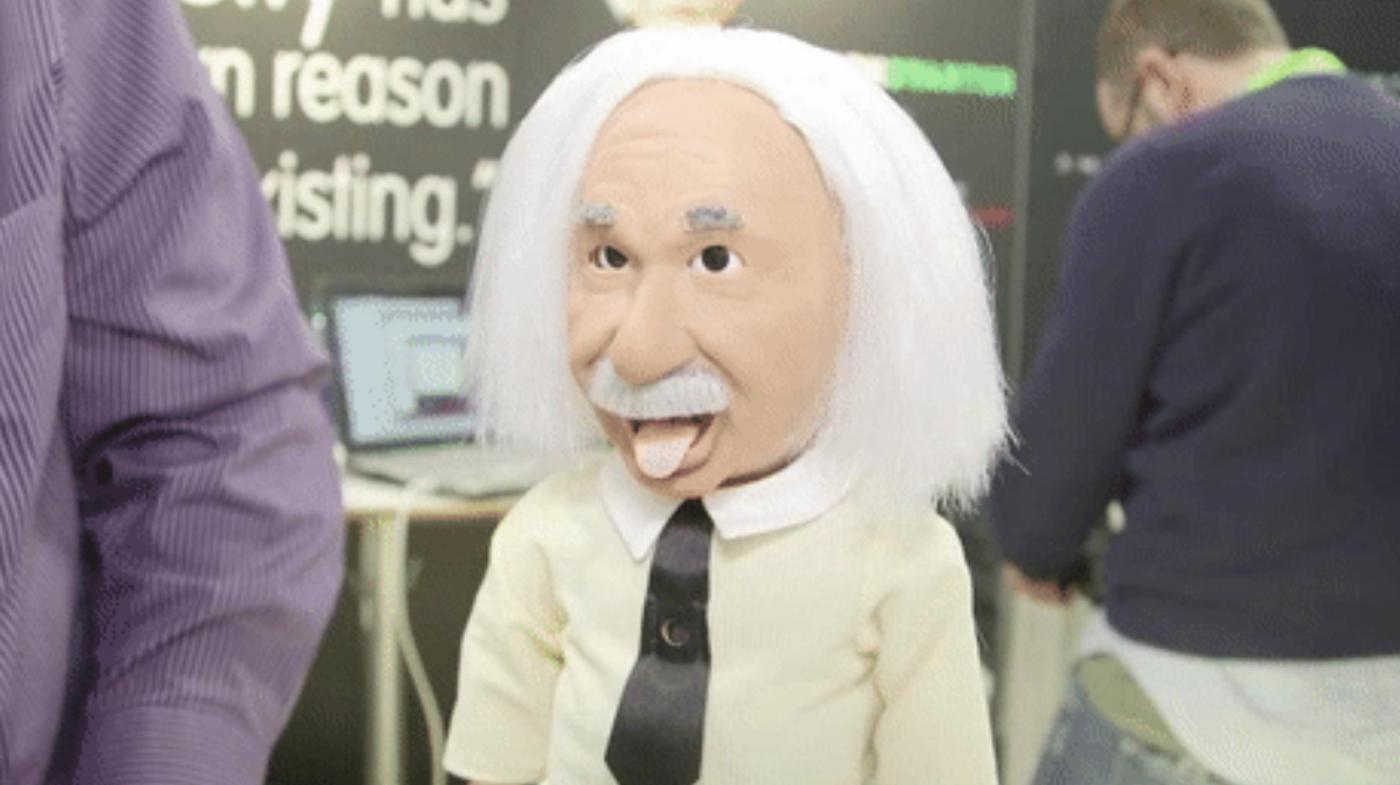 你會讓這款有點詭異的「愛因斯坦」機器人走進你的家庭生活嗎?