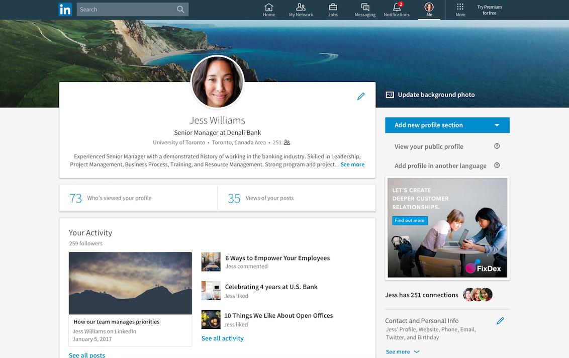 有點像Facebook?LinkedIn網站大改版,破冰聊天機器人即將上線