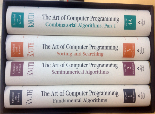 這套書他寫了50年,程式史上最重要神作「電腦程式設計藝術」第四卷B新的章節預覽釋出