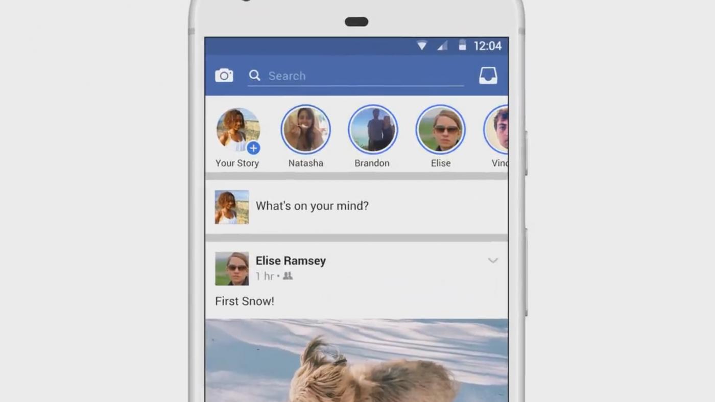 瞄準Snapchat!Facebook現在也要推出「限時動態」