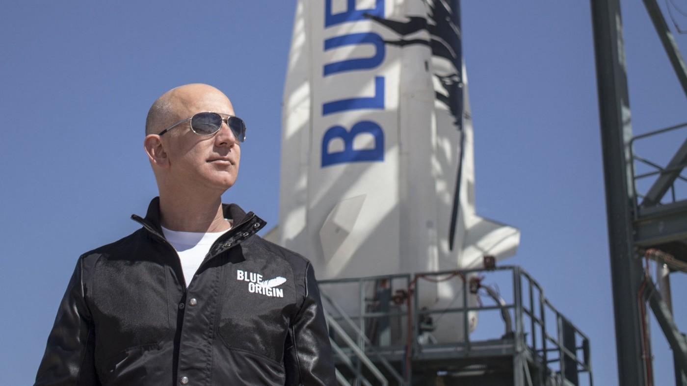 太空夢太燒錢!貝佐斯打算一年賣10億美元亞馬遜股票資助他的火箭公司Blue Origin