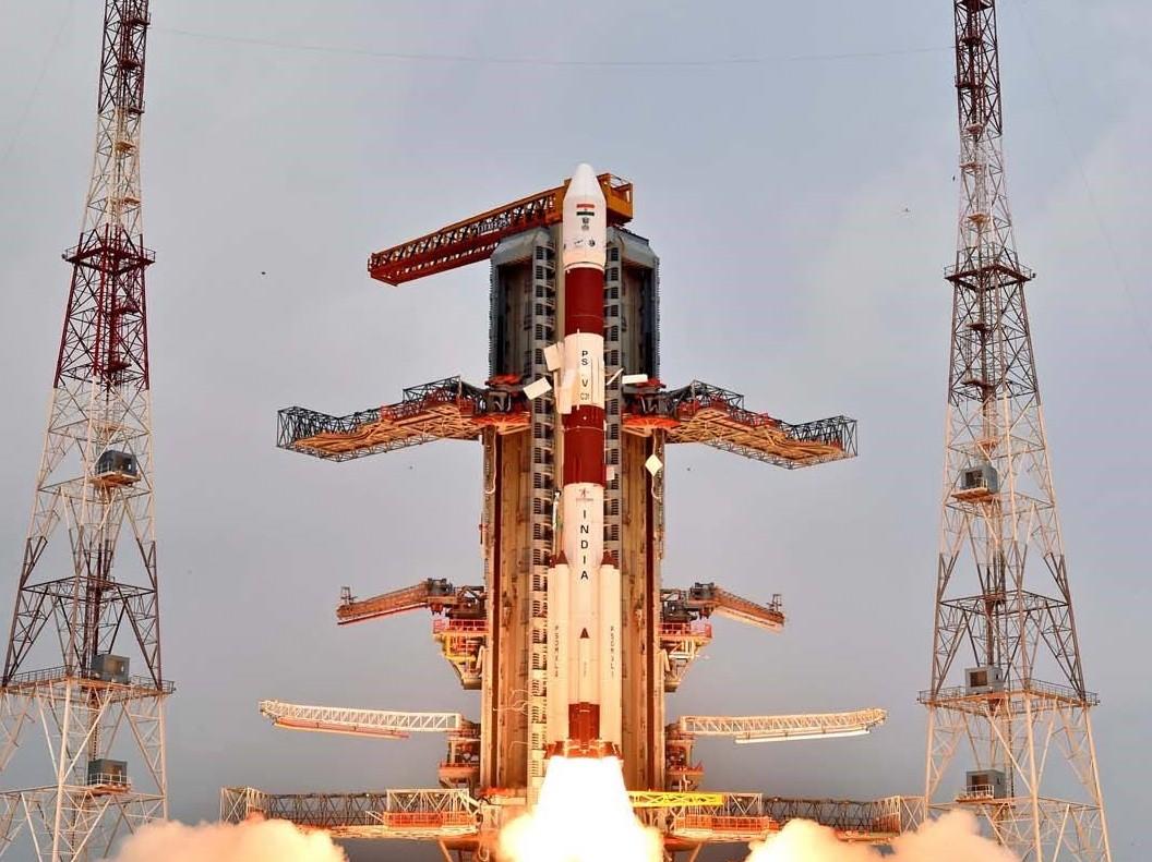 破紀錄!印度成功以單一火箭發射104枚衛星