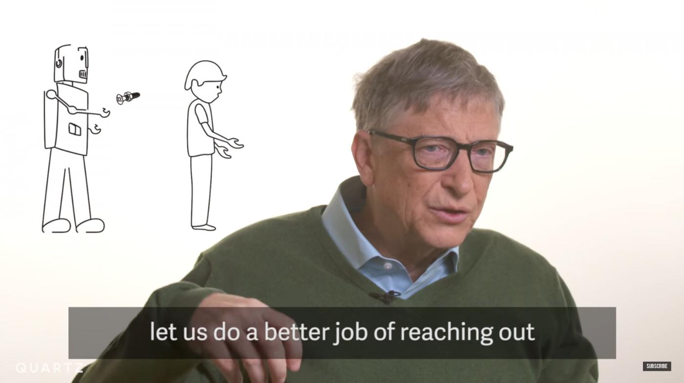 比爾·蓋茲:取代人類工作的機器人,也應像人類一樣繳稅 - 華安 - ceo.lin的博客