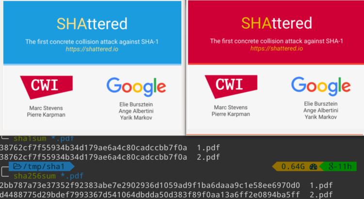 九兆次演算實現碰撞!Google攻破了最重要的加密技術