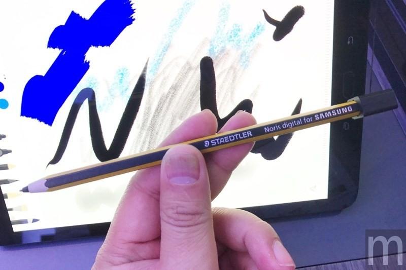 三星與百年文具品牌STAEDTLER合作的特別版S Pen,是一款大人的「鉛筆」