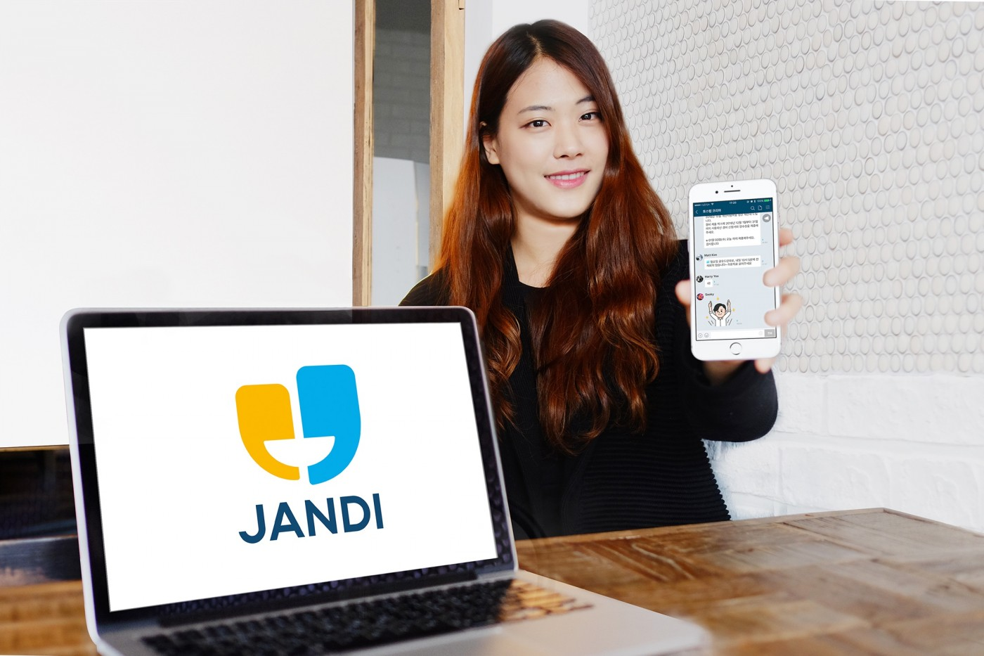 企業通訊軟體JANDI宣佈完成A輪募資,融資金額累計超過600萬美元