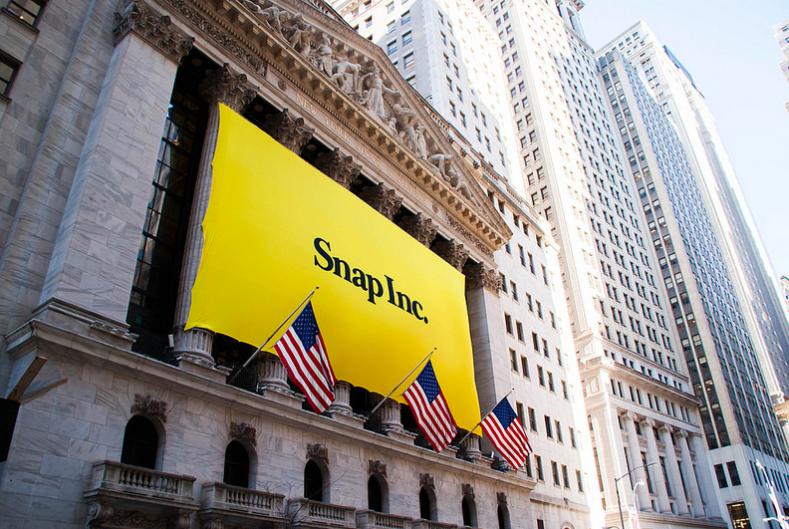 Snap上市好風光,開盤股價上漲41%、公司市值突破280億美元