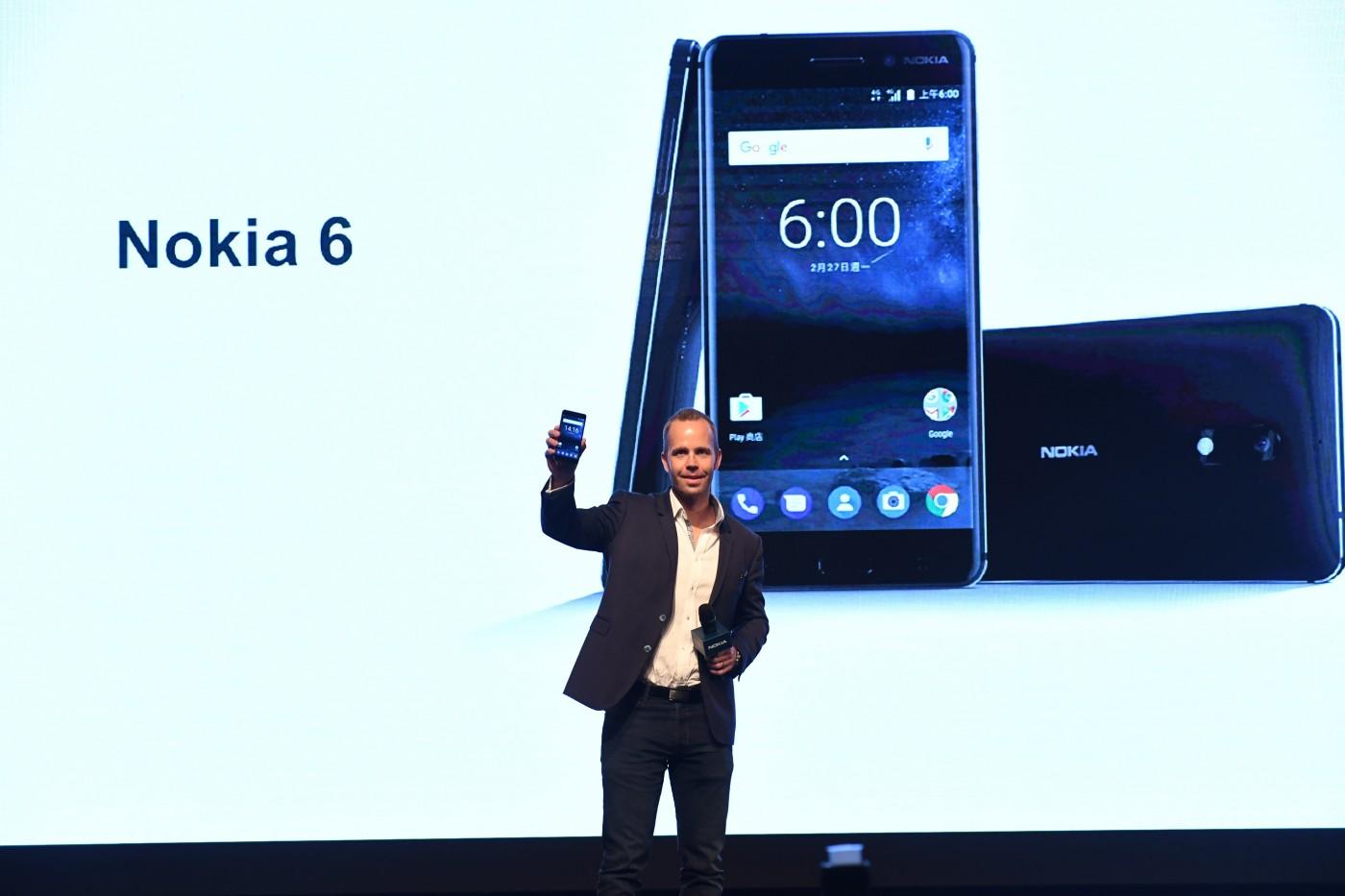 強勢回歸!芬蘭新創HMD帶著Nokia 6登台
