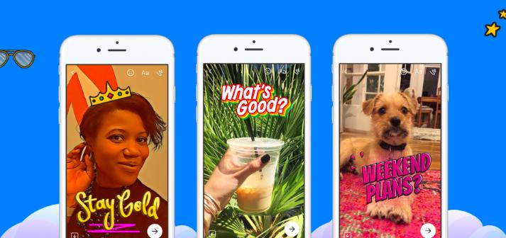 打擊Snapchat再一招!Facebook推出「Messenger Day」,未來可能會加入廣告