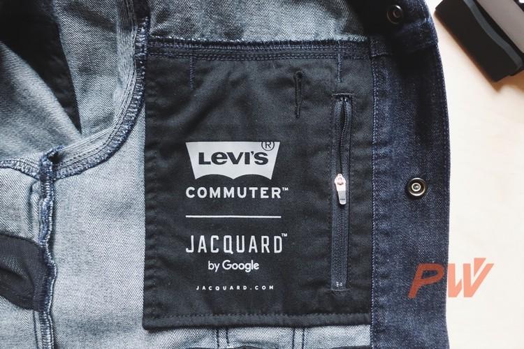 Google+Levi's聯名夾克做了三年,終於有機會穿上了!
