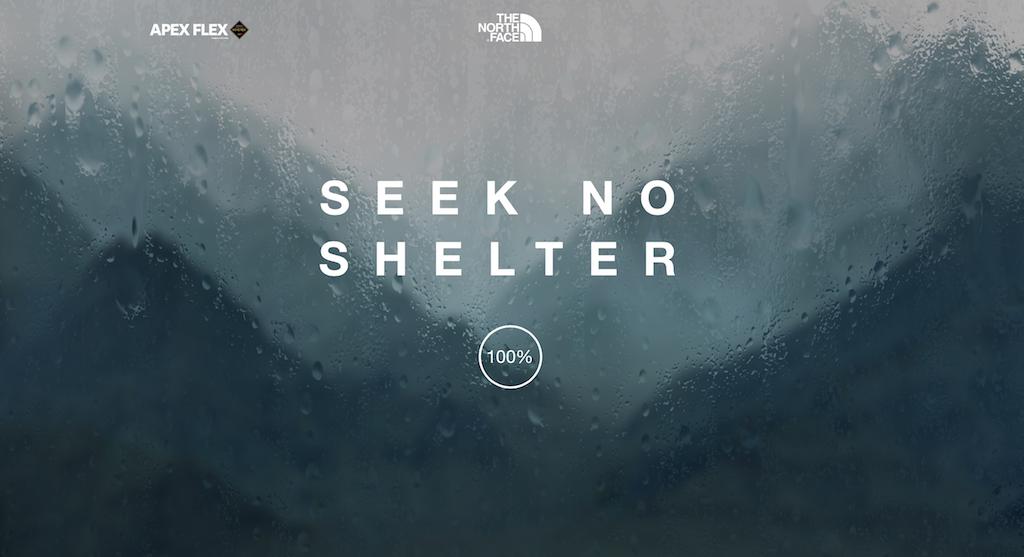 你在的地方有下雨才能聽!Spotify與The North Face合作,推出一首雨天限定歌