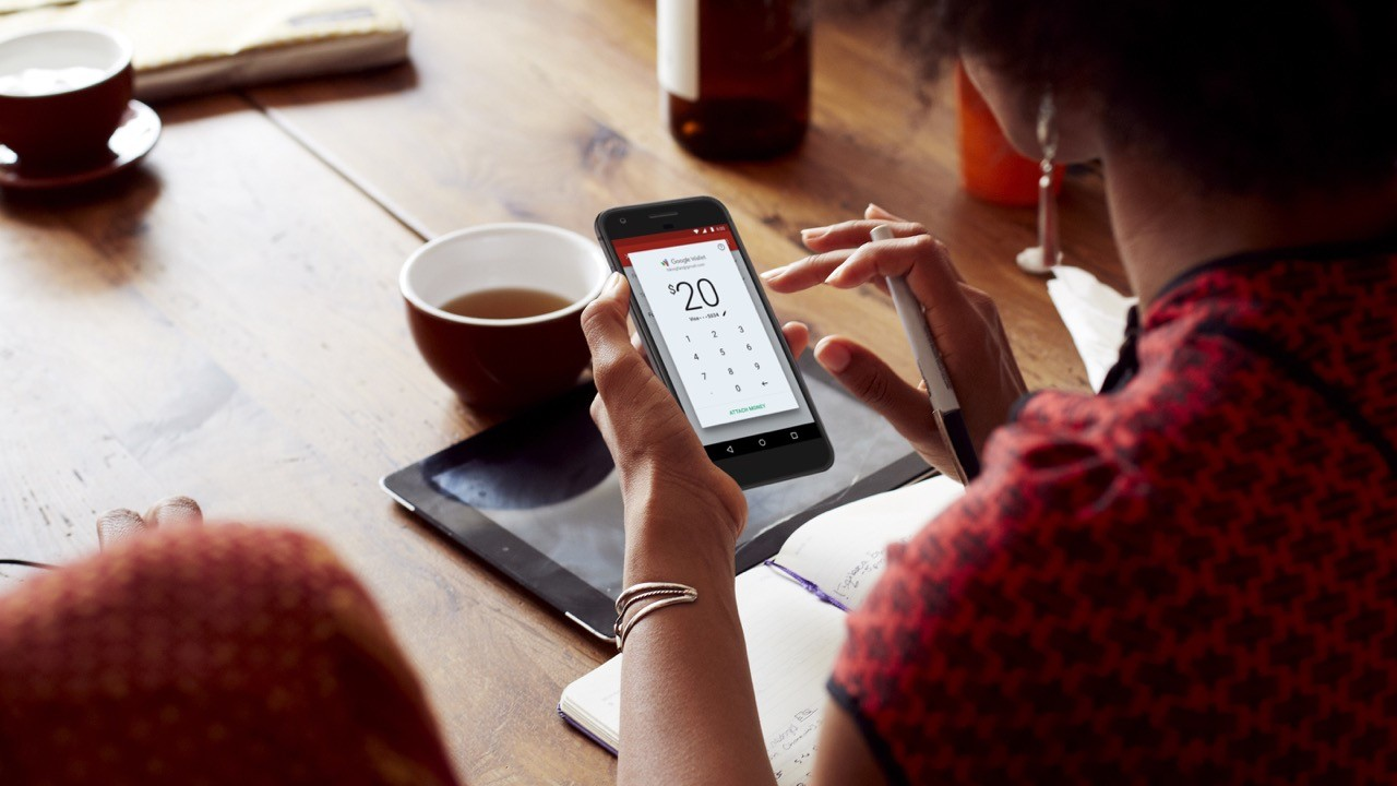 Gmail App新增金錢收發功能,可以透過電子郵件直接轉帳