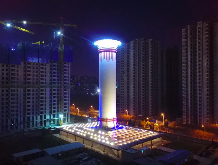 霧霾退散!創星物聯找上世界頂尖學者,協助台灣蓋第一座除霾塔