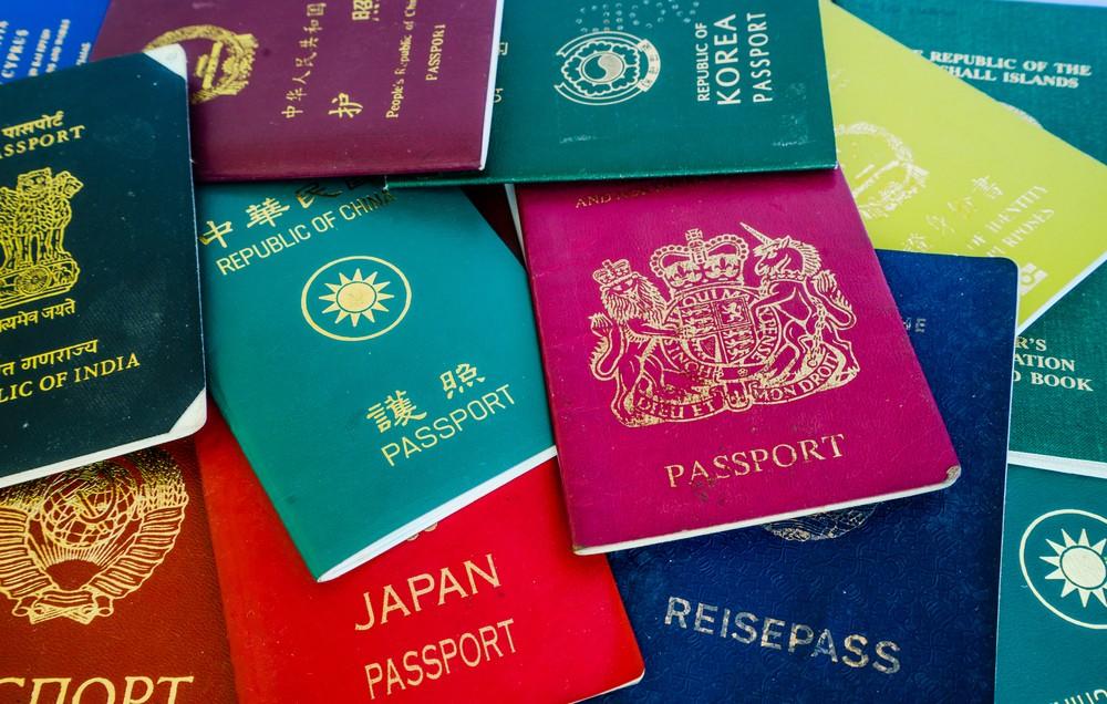 長知識!Passport Index各國護照封面顏色、圖案、免簽國家查詢比較系統