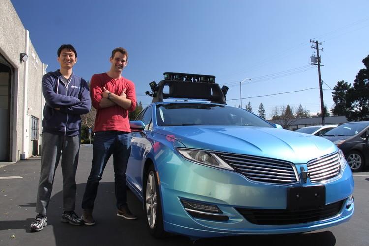 史丹佛博士休學蟄伏兩年,弄出這輛要和Google、特斯拉較量的無人車